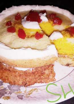 Bournvita n fruits jam cake... Its healthy for child's
