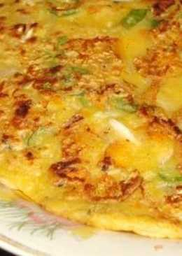 EggLess VeGeTabLe OmeLettE
