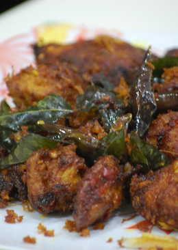 Payyoli Chicken Porichathu/Payyoli Chicken Fry