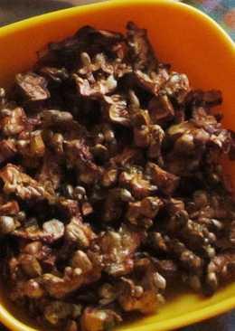 Pavakka varuval / Bitter gourd fry