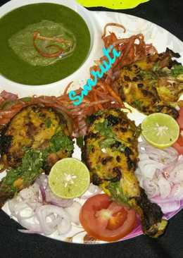 Punjabi Chicken Tangdi Kabab
