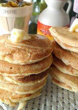 Fluffy Tofu pancakes (Gluten Free & Vegan)