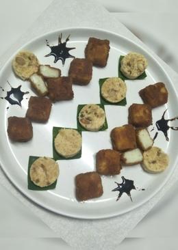#Fried milk bar and Instead kharwas(milk pudding) recipe#
