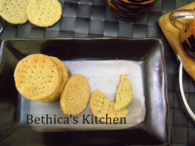 Kids Lunch Box Meal - Baked Mathri