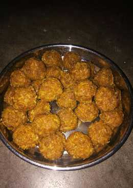 Bengali style coconut laddu