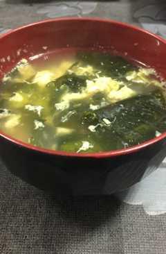 resep masakan japanese kakitama soup