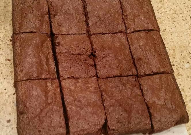 Resep Easy Fudgy Brownies (Gluten Free or Regular)