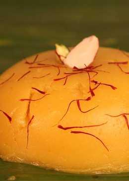 Badam Halwa (Almond Dessert)