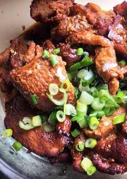 Asian Fusion Air-Fried Pork