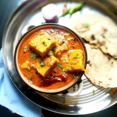 Rajasthani Pitod Curry