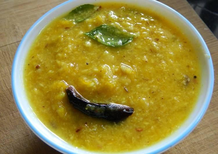 Pumpkin Dal curry