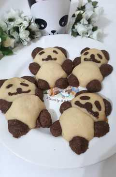 resep masakan panda cookies