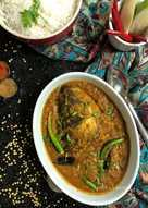 Fish Head Lentil Curry - Bengali Style