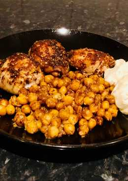 Easy Za'atar Chicken with Chickpeas