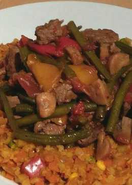 Vickys Jerk Beef Stew