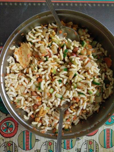 Bengal style jhalmudi