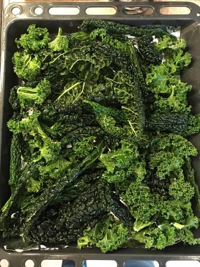 Kale snack