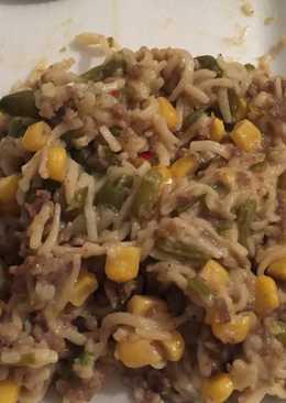 Cheap Quick Ramen Noodle Meal