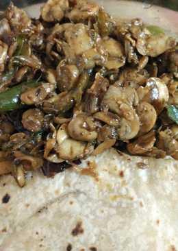 Mushroom Chillie Pepper Fry