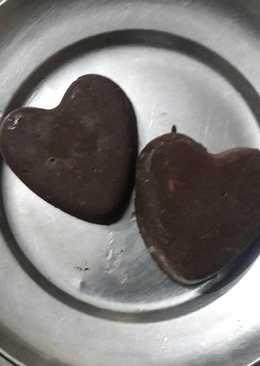 Home made dark chocolates