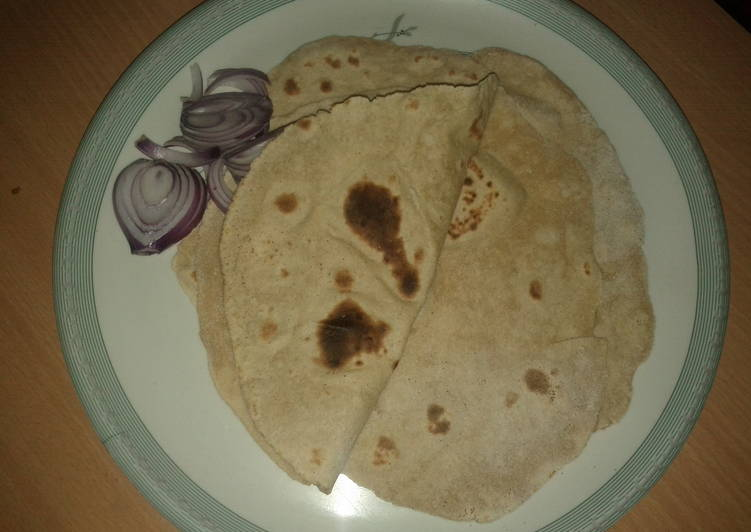 Indian flat bread (chappathi)