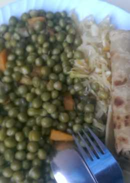 Peas stew served with chapati