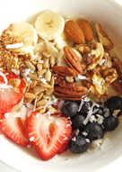 Hot Multigrain Oats Breakfast Bowl