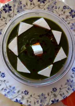 Palak paneer in dhaba style healthy & testy