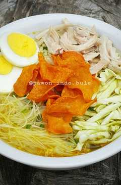 resep masakan soto ayam indonesian chicken soup