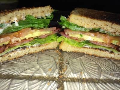 B.A.L.T.S. Bacon Avocado Lettuce Tomato Sandwiches