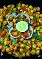 Green peas chole sabzi