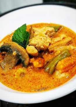 Chicken Red Thai Curry