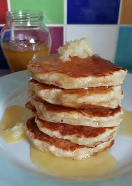 Vickys Pineapple Pancakes with Syrup, GF DF EF SF NF