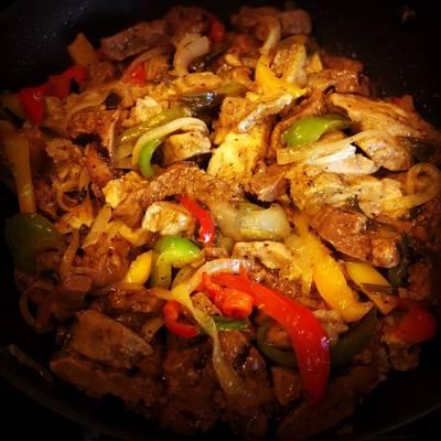 Steak & Chicken Fajitas
