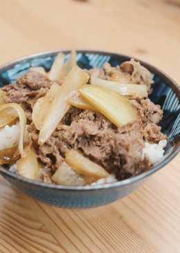 Gyudon Japanese Beef Rice Bowl (GF)