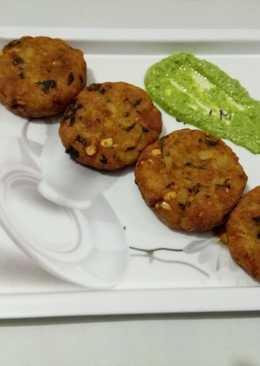 Potatoes & Rajgira croquettes