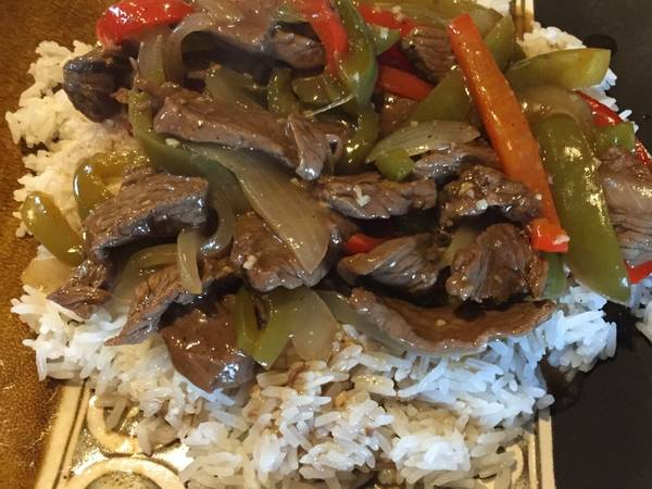 Bell Pepper Steak