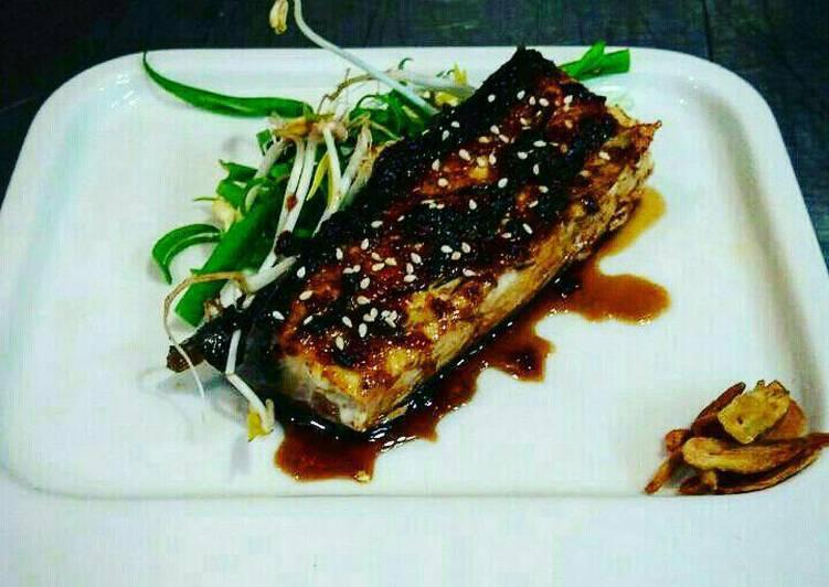 Grill fish (yellow tail) Recipe by Kenji Hmar'z - Cookpad