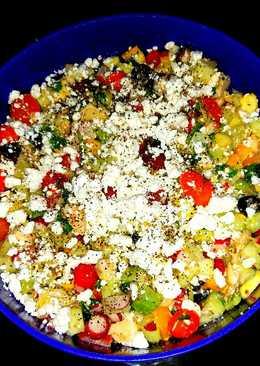 Mike's Armenian Cucumber Feta Salad