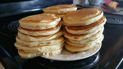 Buttermilk Pancakes (Alton Brown)