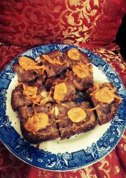 Wheat carrot almond cake