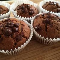 Eggless Oats, Apple And Date Cupcakes