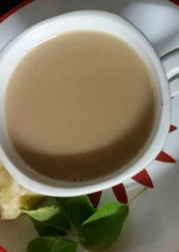 Ginger and jaggery tea
