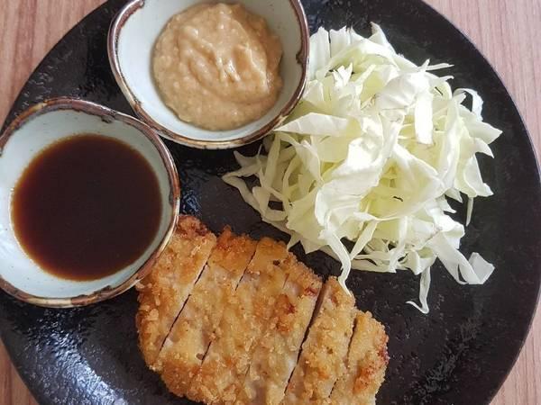 Tonkatsu With Sesame Miso Sauce
