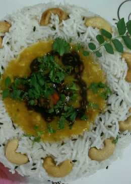 Dal fry & jeera rice
