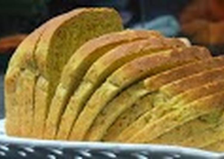 Zesty Yellow Bread