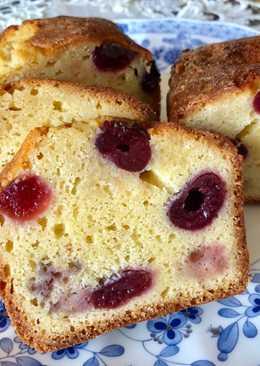 Aunty Eiko's Coconut Cherry Cake
