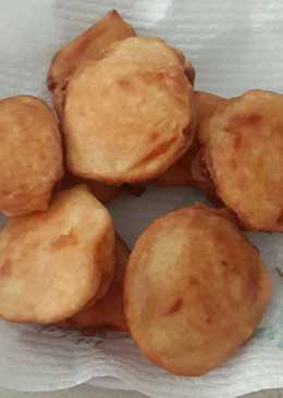 🇮🇩 Ubi Goreng (Fried Sweet Potato) #Gorengan_01