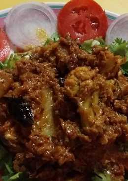 Aloo gobhi masala curry
