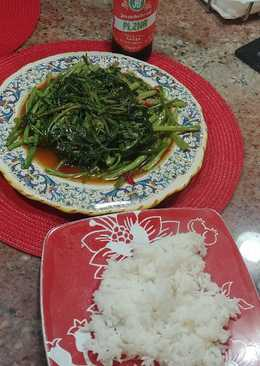 Pad boong (thai / chinese stir fry vegetables)